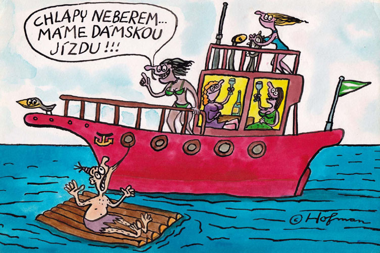 Kresleny Humor Z Hofman Karikaturista Kreslene Vtipy Dexempo